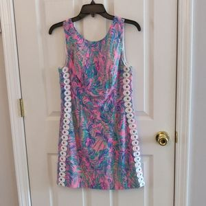 Lilly Pulitzer Mila shift in Coco Breeze